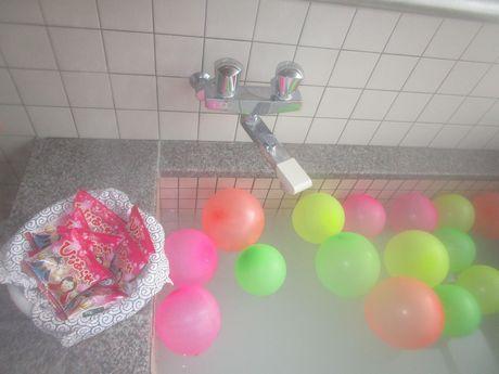 ひな祭り風呂