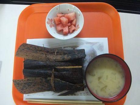 竹の皮弁当